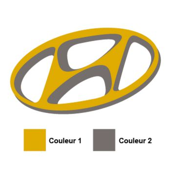Hyundai Logo Decal