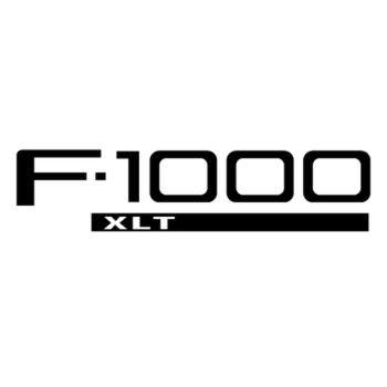 Sticker Ford F 1000 Logo