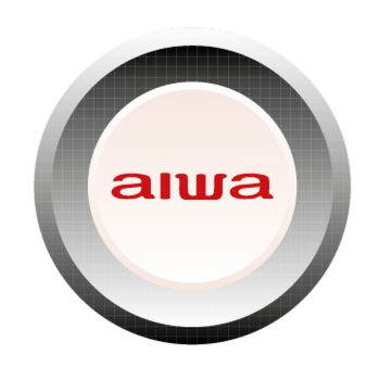 Sticker Aiwa Logo