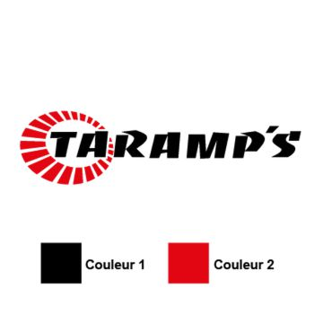 Sticker Audio TARAMPS Logo