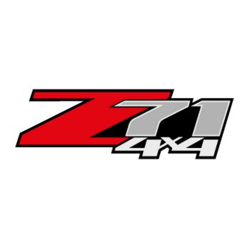Chevrolet Z71 4x4 Logo Decal