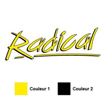 Radical Logo Decal