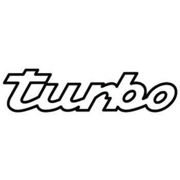 Porsche 911 Turbo (1977) logo Decal