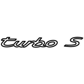 Porsche 911 Turbo S (1977) logo Decal