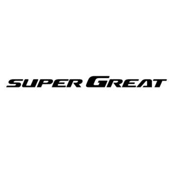 Sticker Mitsubishi Super Great logo