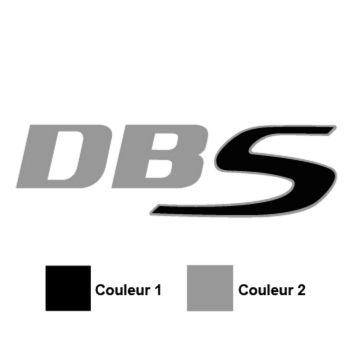 Aston Martin dbs v12 Logo Decal