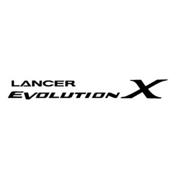 Mitsubishi Lance Evolution Logo Decal