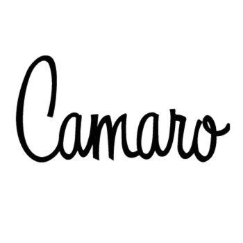 Sticker Chevrolet Camaro logo