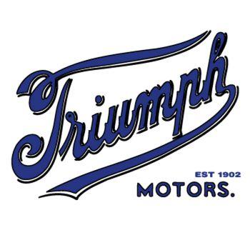 Sticker Triumph 1902 logo