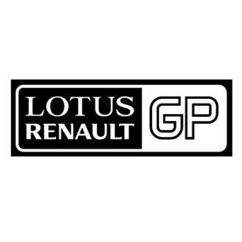Sticker Lotus Renault GP Logo