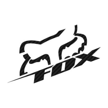 Sticker Carbone Fox Racing