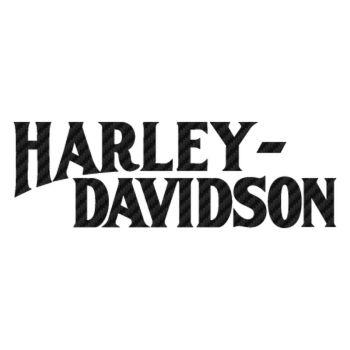 Harley Davidson 1950 Carbon Decal