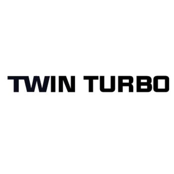Lancia Twin Turbo Logo Decal