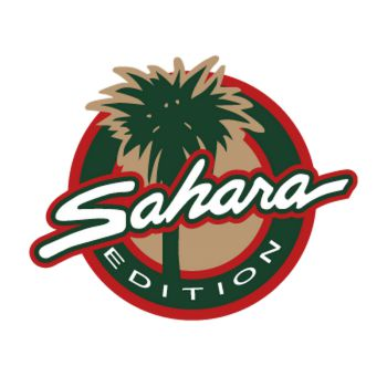 Sticker Jeep Sahara Logo