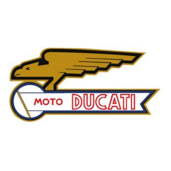 Sticker Moto Ducati Logo