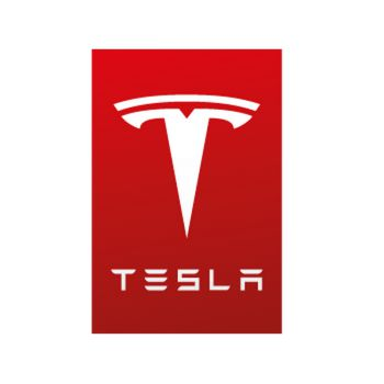 Sticker Tesla Logo