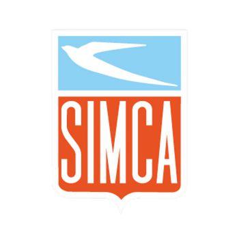 Simca Logo Decal