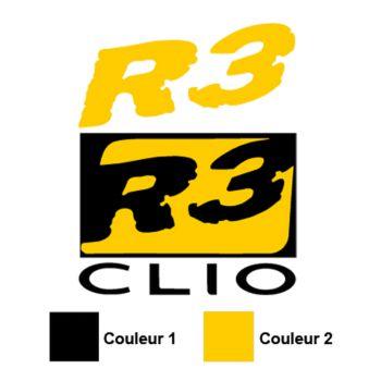 Clio R3 Logo Decal