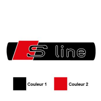 Audi S-Line Logo Decal