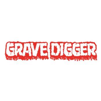 Grave Digger Logo Decal