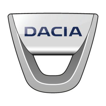 Dacia 2008 Logo Decal