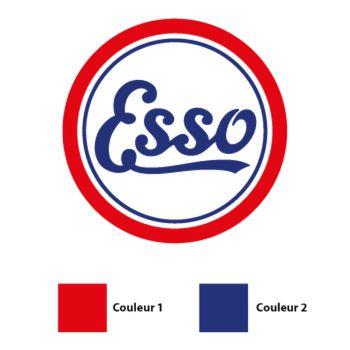Esso Antique Logo Decal