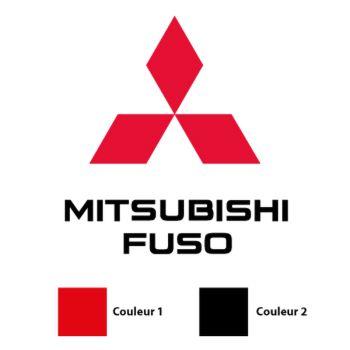 Mitsubishi Fuso Logo Decal