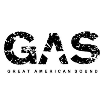 Sticker GAS Great American Sound