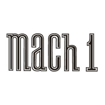 Sticker Ford Mustang Mach 1