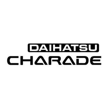Daihatsu Charade Logo Decal