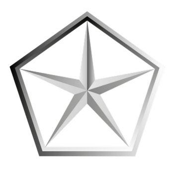 Dodge Star Logo Decal