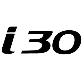 Hyunda i30 Logo Decal
