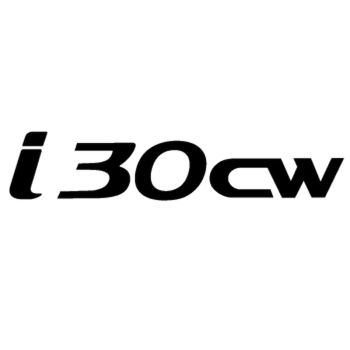 Hyunda i30cw Logo Decal