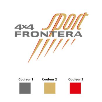 OPEL FRONTERA Logo Decal