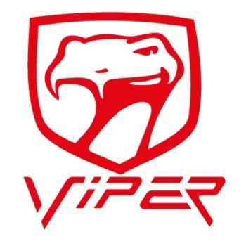 Dodge Viper Logo Decal