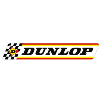 Dunlop 70th Logo Decal