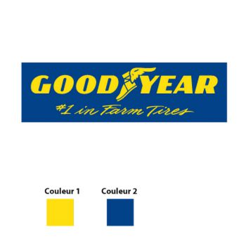 GOOD YEAR Logo Decal