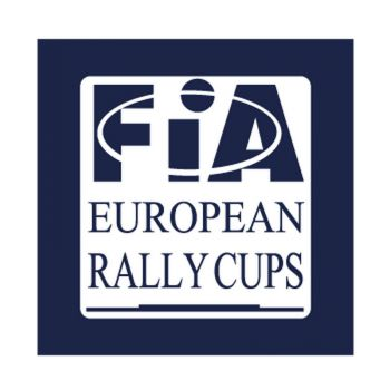 FIA european rallly cups Logo Decal