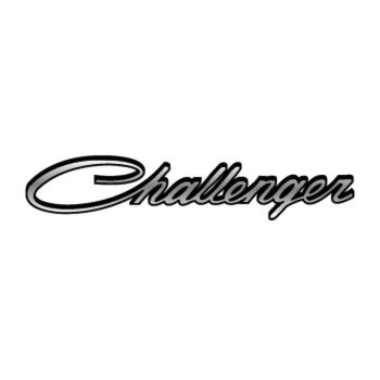 Dodge Challenger Logo Decal