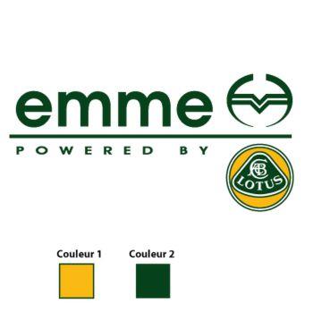 Sticker EMME Lotus