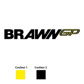 Brawn GP Logo Decal