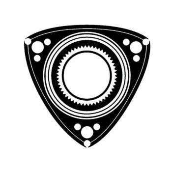 Sticker Mazda Wankel Rotary