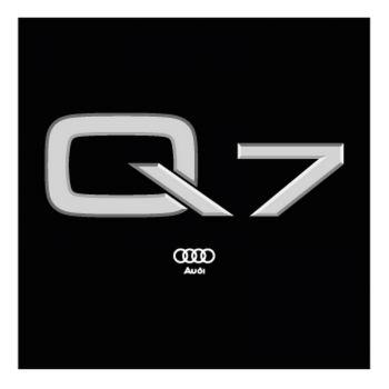 Audi Q7 Logo Decal