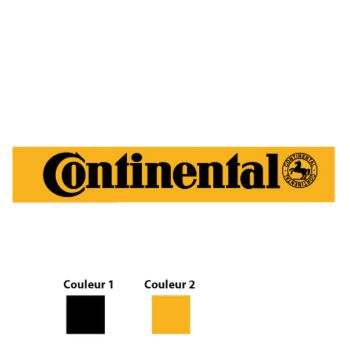 Continental Tyres Logo Decal