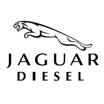Sticker Jaguar Diesel