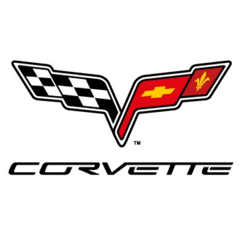 Corvette C6 Logo Decal