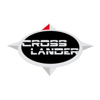 Cross Lander Logo Decal