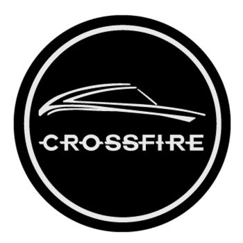 Chrysler Crossfire Logo Decal