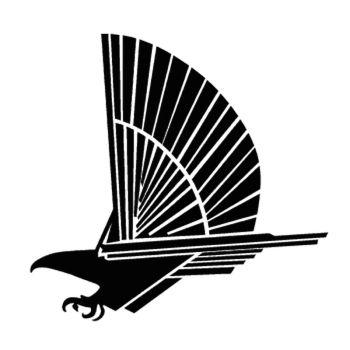 Pontiac Firehawk Logo Decal