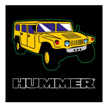 Hummer Logo Decal